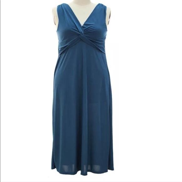 Women plus size Grecian Dress 1XL NWT